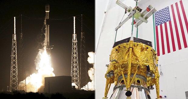 Izrael vyslal do vesmíru robotické vozítko: Bude zkoumat Měsíc a má čtyři nohy