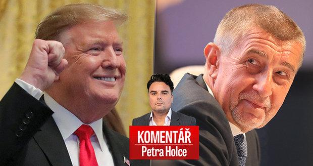 Komentář: Zeman se Trumpovi tak vnucoval, až ho Bílým domem trumfl Babiš