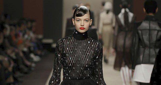 Kolekce Fendi, kde Karl Lagerfeld zanechal svůj rukopis