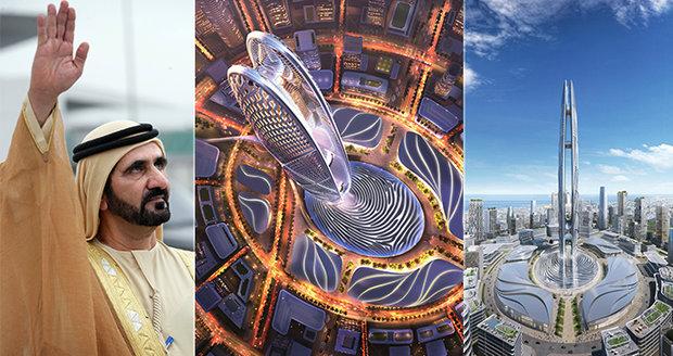 Nová budoucí ikona Dubaje: Věž Burdž Jumeira (550 m) byla vymodelována podle šejka!