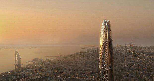 Impozantní novostavbu budou moci ze svých pokojů obdivovat i hosté luxusního hotelu Burdž al-Arab, který byl otevřen už v roce 1999.
