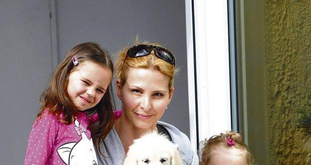 Ivanka s dcerami Charlotte a Nelly se Blesku pochlubila Stellou Gottovou.