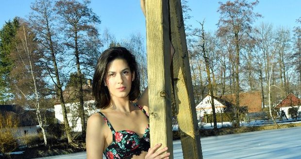 Aneta Vignerová v resortu Mlýn
