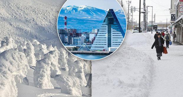 Nebaví vás lyžovaní v Evropě? Zkuste jedno z nejzasněženějších míst planety – město Aomori v Japonsku