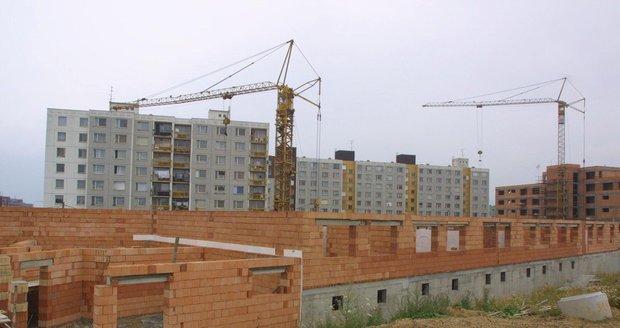 Brno plánuje výstavbu 300 bytů v lokalitě Kamenný vrch II. Ilustrační foto