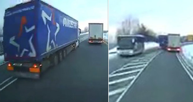 Šílený kamioňák (52) z Česka, kterému hrozí doživotí: Soud ho poslal do vazby