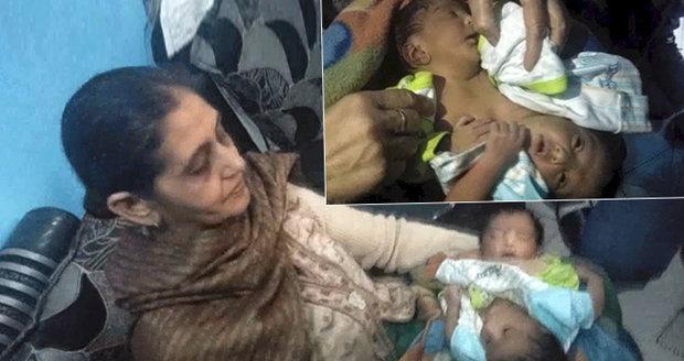 Lékaři zdrtili matku siamských dvojčat: Vašim dětem nemůžeme pomoci, a už vůbec ne zadarmo!