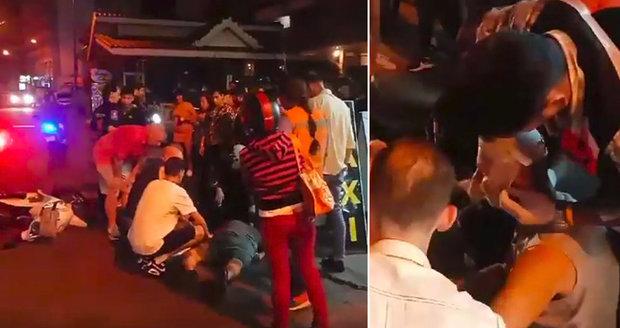 Drama v dovolenkovém ráji: Čecha v Thajsku smetl muž na motorce!