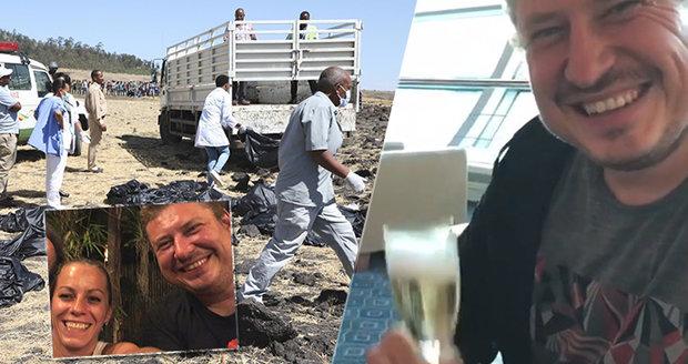 Tragický pád letadla v Etiopii: Poslední okamžiky s Martinem před letem smrti
