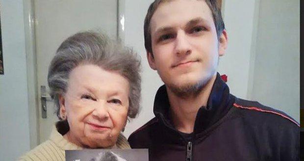Poslední foto Aťky Janouškové před smrtí: S Lubomírem Zemancem 6. 3. 2019.