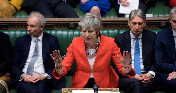 Bude brexit, nebo ne? Mayová tvrdě narazila u poslanců se schválením dohody s EU