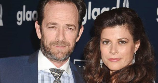 Luke Perry se snoubenkou Wendy Madison Bauerovou