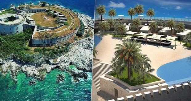 Vězeňská pevnost na ostrově Mamula se změní v luxusní resort.