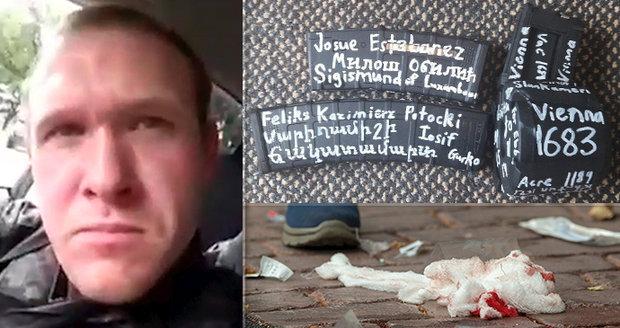 V mešitách vraždil dětský trenér (28), zásobník pistole pojmenoval po českém králi Zikmundovi