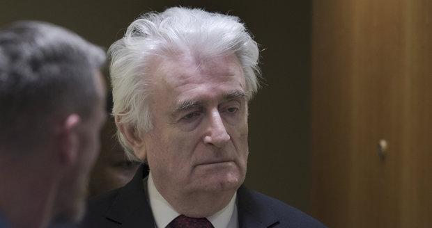 Z vězení už nevyjde. Soud OSN smetl stížnost válečného zločince Karadžiče