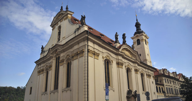 Kostel svatých Šimona a Judy, Praha 1.