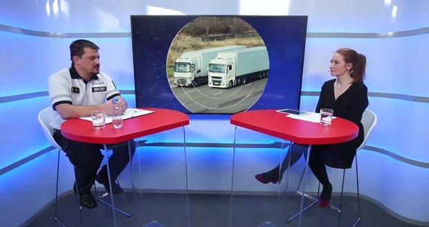 """Vysílali jsme: Jsou kamioňáci """"šílenci""""? Máme se na českých silnicích bát?"""