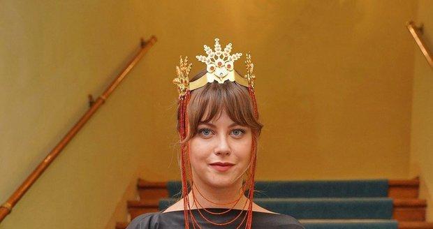 Jenovéfa Boková předvedla na Czech Grand Designu notně neobvyklou ozdobu hlavy