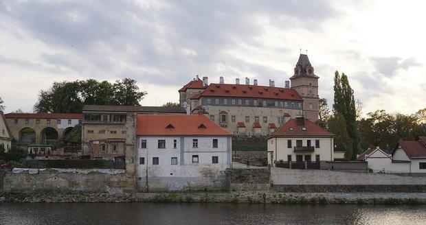 Brandýský zámek býval oblíbeným sídlem habsburských panovníků.