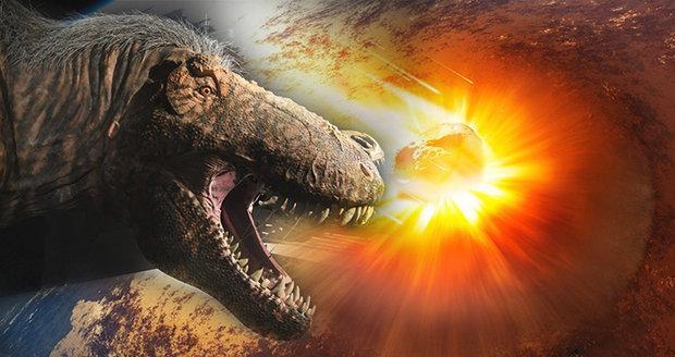 Den, který zahubil dinosaury: Vědci rekonstruovali dopad ničivého meteoritu