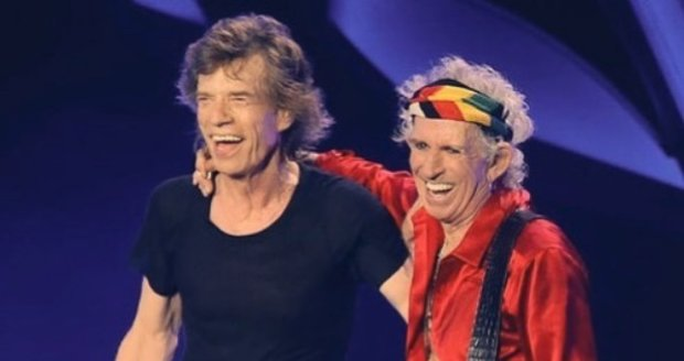 Mick Jagger a Keith Richards