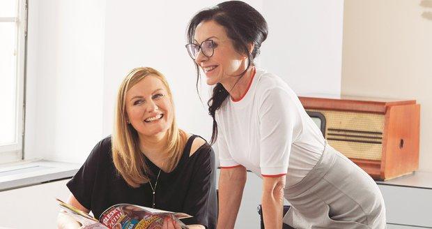 Libuše Šmuclerová a Monika Sokolová stojí za vznikem magazínu Blesk pro ženy