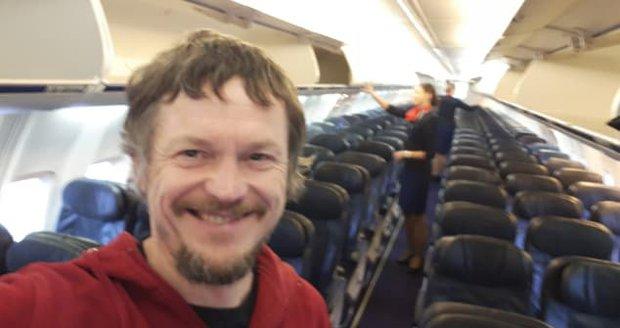 Litevec Skirmantas Strimaitis letěl do Bergama úplně sám