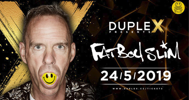 Fatboy Slim v Praze ukázal, že je showman tělem i duší: Check it out now, the funk soul brother
