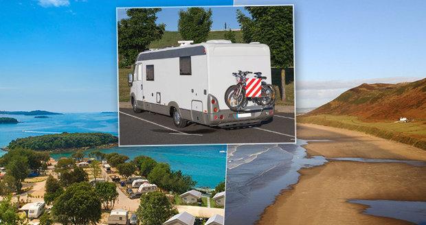 Toužíte po dovolené, která bude ve vaši režii? Vyrazte krásy Evropy objevovat karavanem! Máme tu pro vás 10 nej kempů!