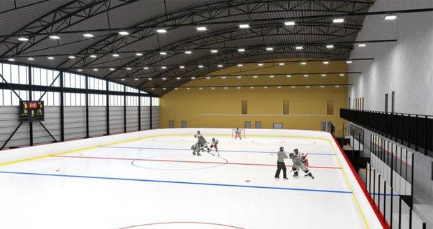 Takto by měl po dokončení Areál ledových sportů vypadat.