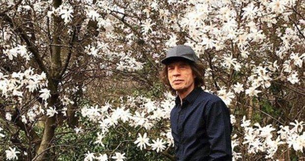 Mick Jagger po operaci srdce
