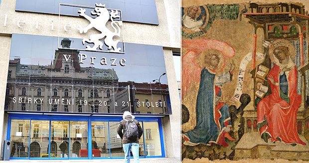 Národní galerie chce koupit obraz z dílny Mistra Vyšebrodského cyklu