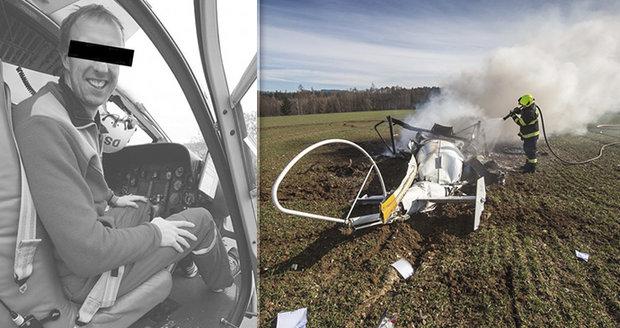 Zdrcená partnerka zesnulého pilota Michala: Kamarád mi jeho smrt tajil, vypráví
