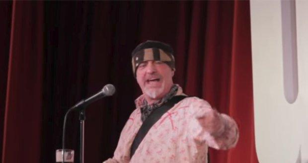 Britský komik Ian Cognito