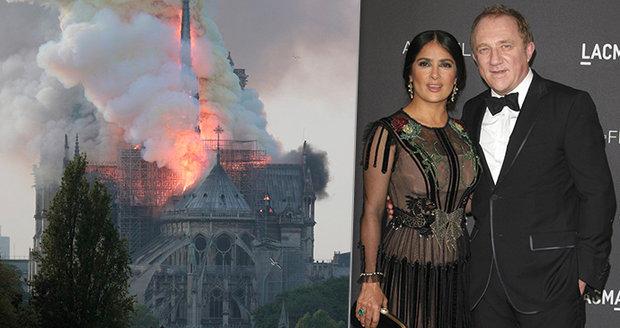 Kdo jsou miliardáři, kteří chtějí zachránit Notre-Dame? Dva složili 7,5 miliardy!
