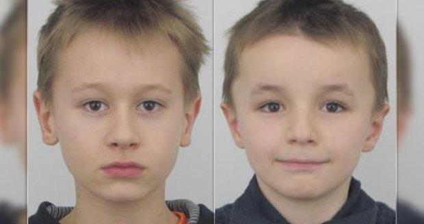 Františka (13) a Vojtěcha (11) Varmužovi hledá policie.