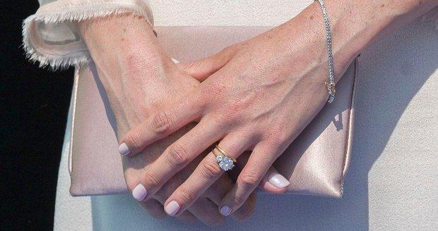 Meghan Markle a její šperky.