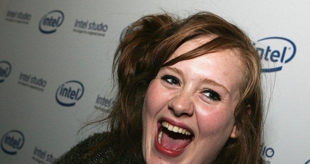 Adele na začátku své kariéry