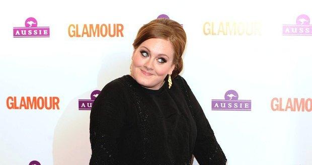Adele je svá