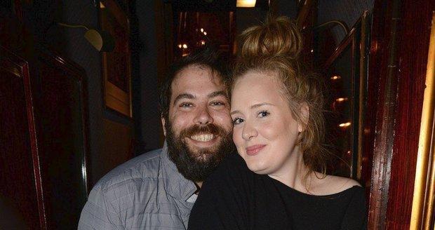 Adele vypadala opravdu šťastně