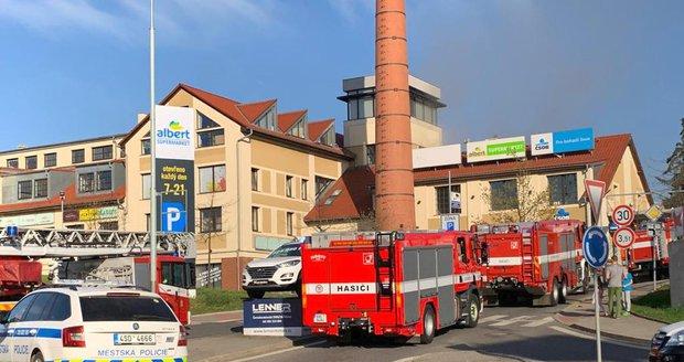 V Říčanech u Prahy hořela školka. Odhadovaná škoda je až 15 milionů