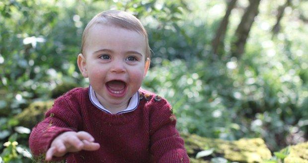 Princ Louis slaví první narozeniny! Tohle jsou jeho nejmilejší momenty