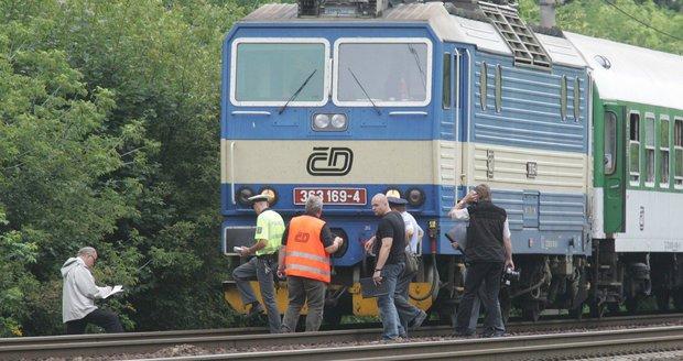 Vlak srazil muže (39) v Březí na Břeclavsku (ilustrační foto.