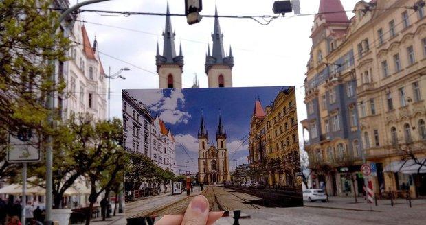 Praha 7 nechala vyrobit sady pohlednic s tematikou dominant městské části.