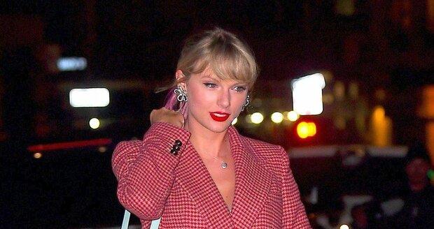 Zpěvačka Taylor Swiftová