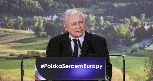 Euro by teď Polsku nic dobrého nepřineslo, řekl Kaczyński. Souzní s Českem