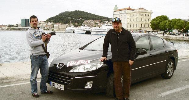 Cestu do Chorvatska mapovali redaktor Václav Suchan (vpravo) a fotograf Michal Šula