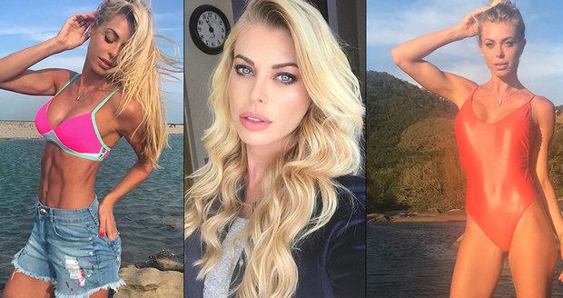 Sexy modelka (†37) se utopila v moři: Chtěla zachránit štěňátka, která smetla bouře