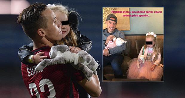 Manželka tragicky zesnulého fotbalisty Josefa Šurala napsala na instagram dojemné vyznání.