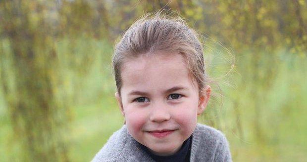 Vévodkyně Kate sdílela fotografie své dcery princezny Charlotte, která oslavila 4. narozeniny.